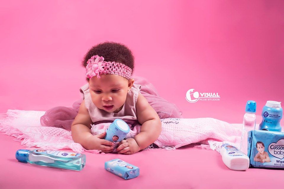 infant and baby photography in port harcourt by visual plus studios